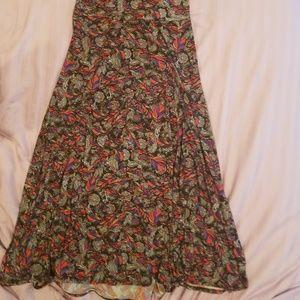 LuLaRoe Maxi Skirt Size M...Multicolor